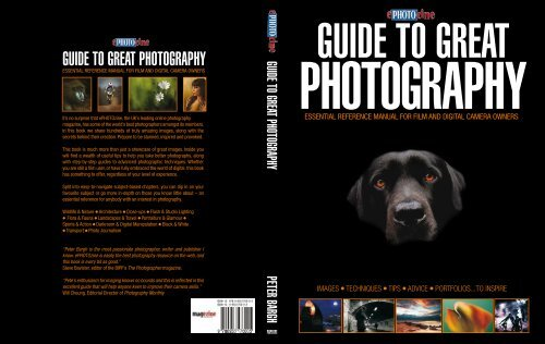 GUIDE TO GREAT PHOTOGRAPHy - ePHOTOzine