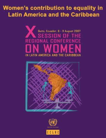 Women in Latin America and the Caribbean - Cepal