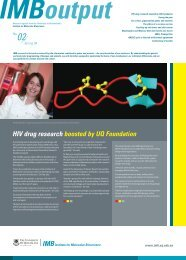 HIV drug research boosted by UQ Foundation - Institute for ...