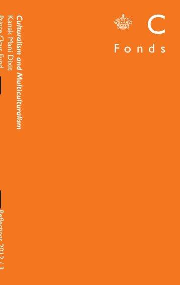 Culturalism and Multiculturalism Kanak Mani Dixit Reflections 2012 ...