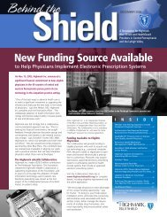 New Funding Source Available - Highmark Blue Shield
