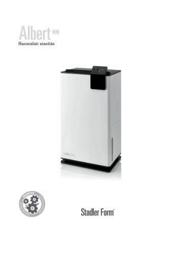 Használati utasítás - Stadler Form