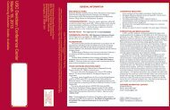 2009 Many Faces of Dementia Registration Brochure