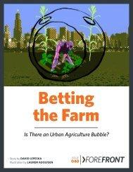 Betting the Farm - Tufts