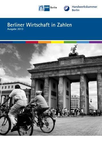 Berliner Wirtschaft in Zahlen 2012 - IHK Berlin