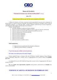 """Sistemi di sicurezza ed interculturalità"" (II ed ... - Cesd-onlus.com"