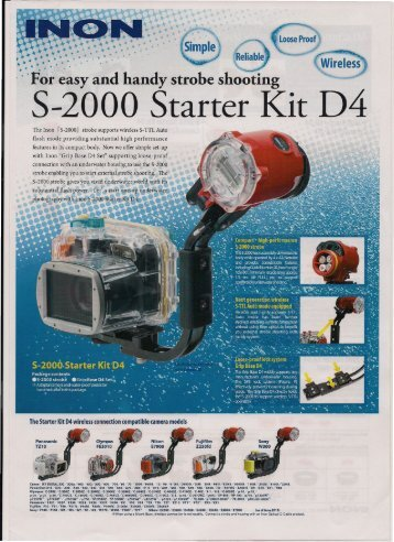 easy and handy strobe shooting 5-2000 5tarterkit ?4 - Econoptics
