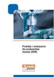Produkty i rozwiązania dla producentów maszyn (OEM) - LOVATO ...
