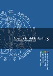 Allegato - Azienda per i Servizi Sanitari n° 3 - Alto Friuli - Regione ...