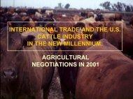 TPS Trade Negotiations Presentation - R-Calf