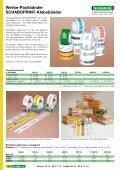 Adressen-Schutzfolien, Papierpackbänder, Papierkreppband - Seite 5