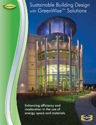 Sustainable Building Design with GreenWise™ Solutions