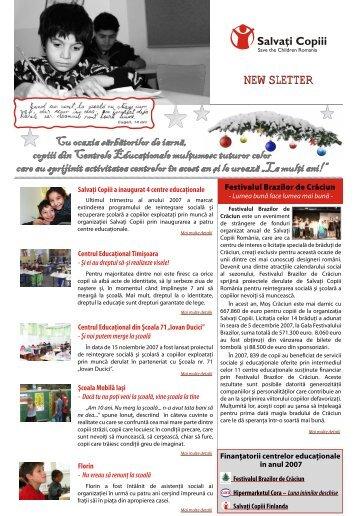 """Centrul Educaţional din Şcoala 71 """"Iovan Ducici"""" - Salvati Copiii"""