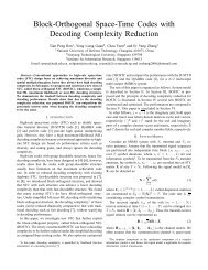Block-Orthogonal Space-Time Codes with ... - ResearchGate