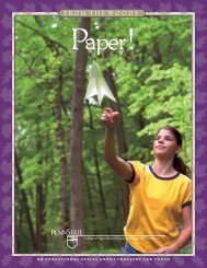 Paper! - Pennsylvania Department of Conservation and Natural ...