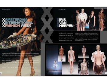 Amsterdam Fashion Week special - Society World Magazine