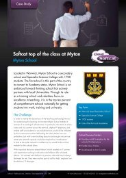 Softcat top of the class at Myton