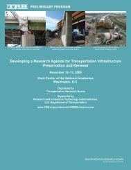 Developing a Research Agenda for Transportation Infrastructure ...