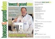 leben bewusst&gesund - huss Verlag