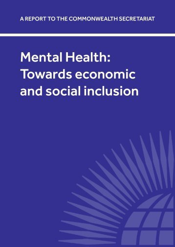 Mental Health: Towards economic and social inclusion - Asialink
