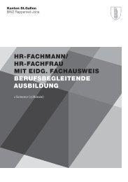 HR-FACHMANN/ HR-FACHFRAU MIT EIDG ... - BWZ Rapperswil