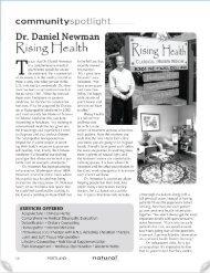 From September 2008 Issue of Natural Awakenings - Rising Health ...