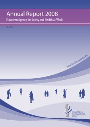 Annual Report 2008 - European Agency for Safety and Health at ...