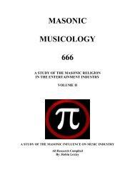 MASONIC MUSICOLOGY 666