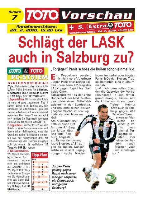 Schlägt der LASK auch in Salzburg zu? - win2day