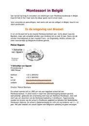 Montessori in België - kelpin.nl
