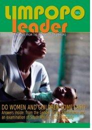 Limpopo Leader - Spring 2008 - University of Limpopo