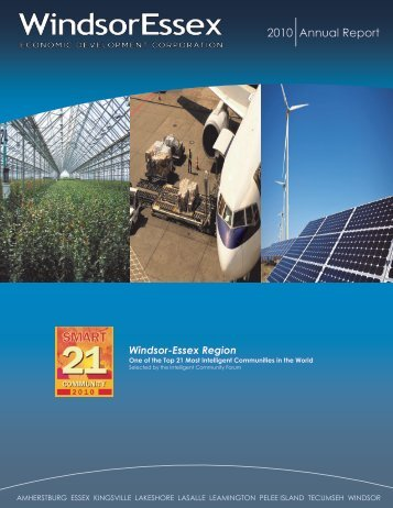 2010 Annual Report - Windsor Essex Economic Development ...