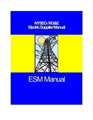 Supplier Manual - nyseg