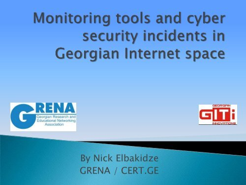 Monitoring Tools and Cyber Security Incidents in     - E