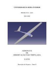 Aeronave de Observação Não Tripulada - UFSC Aerodesign
