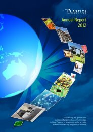 Annual Report 2012 - Plastics New Zealand