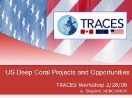 US Deep Coral Projects and Opportunities - Lophelia.org
