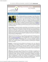 avril 2013 - Organisation internationale de la Francophonie