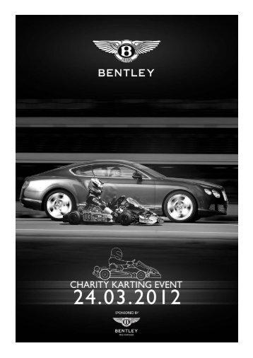 Charity Karting Information Pack - Bentley Motors