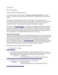 June 22, 2012 Dear Incoming Students - Portal - Princeton ...