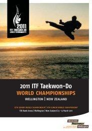 2011 ITF Taekwon-Do world championships - International Taekwon ...