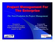 Front line contributors - North Alabama Chapter - Project ...