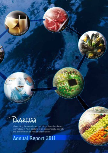 Annual Report 2011 - Plastics New Zealand