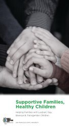 Supportive Families, Healthy Children - Family Acceptance Project