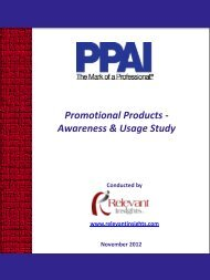 Promotional Products - Regional Association Council