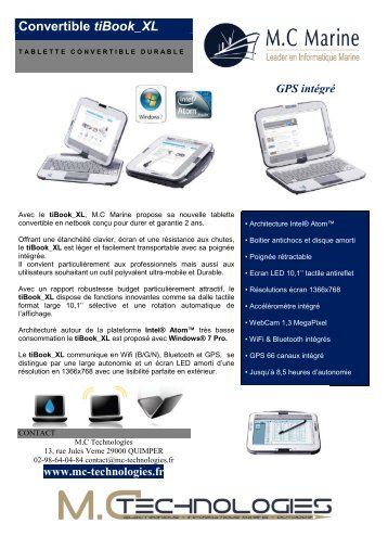 Convertible tiBook_XL - MC Technologies
