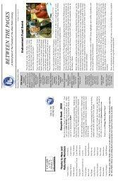 Newsletter - November & December 2008 - Friends of the Allen ...