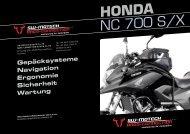 HONDA NC 700 S/X - SW-MOTECH Shop