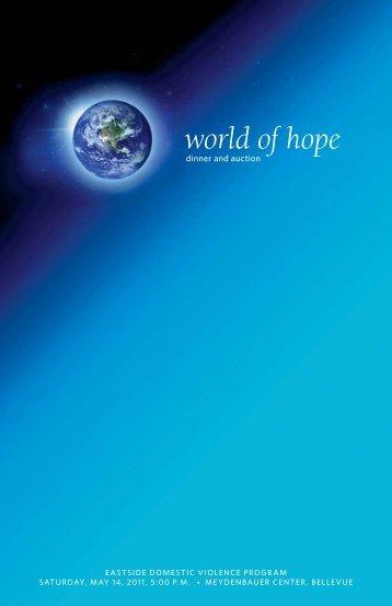 world of hope - Eastside Domestic Violence Program