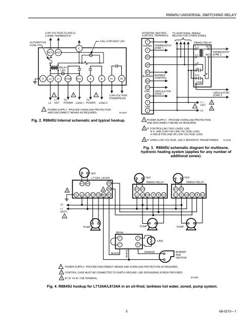 Relay Internal Wiring Diagram
